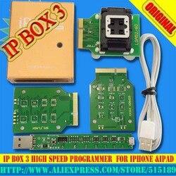 IP box v3 IP BOX 3 hohe geschwindigkeit programmierer für telefon pad festplatte programmers4s 5 5c 5 s 6 6 plus speicher upgrade werkzeuge 16g to128gb