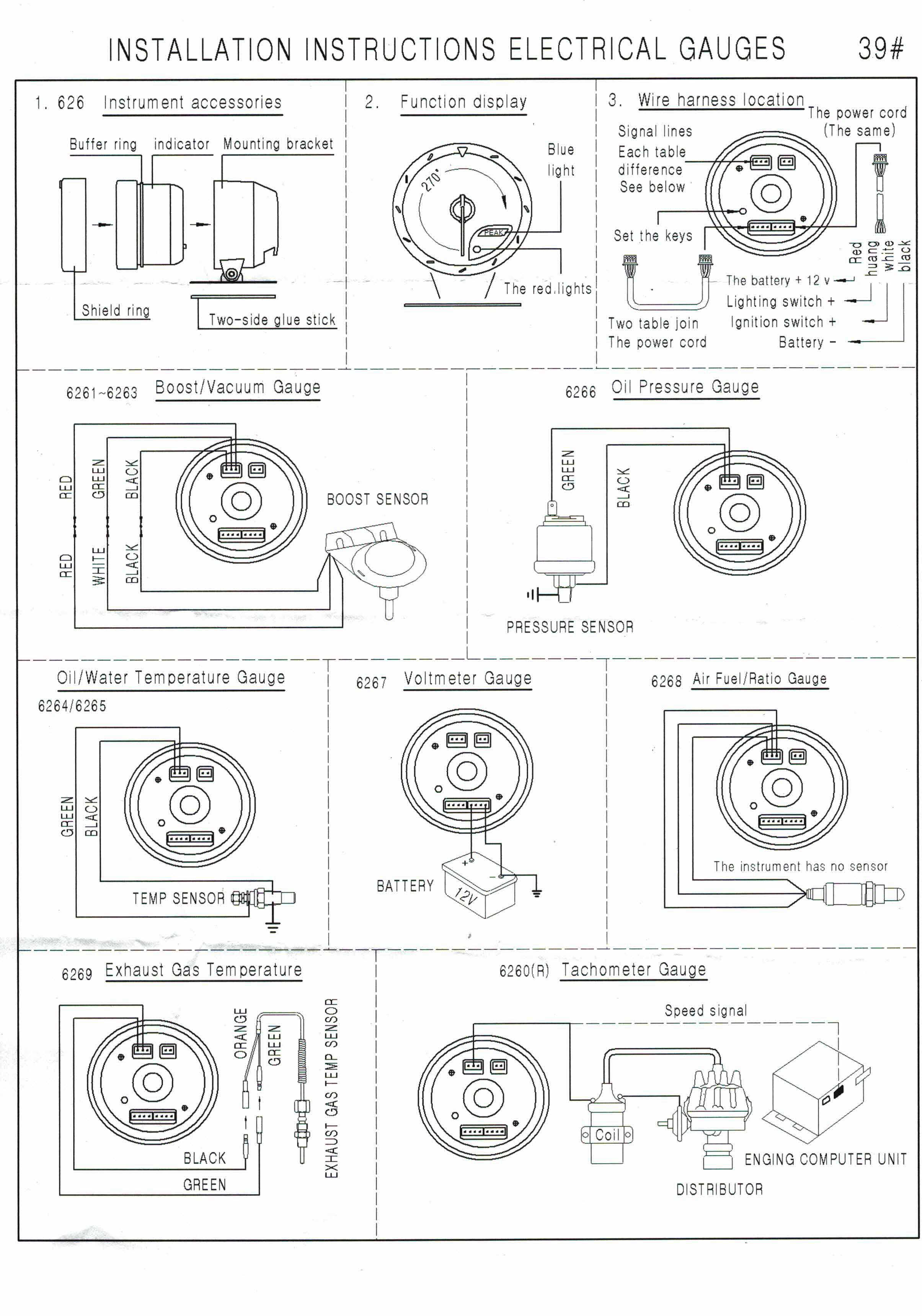 auto meter temp gauge wiring diagram dynoracing 60mm car water temperature gauge 20 120 celsius water  water temperature gauge 20 120 celsius