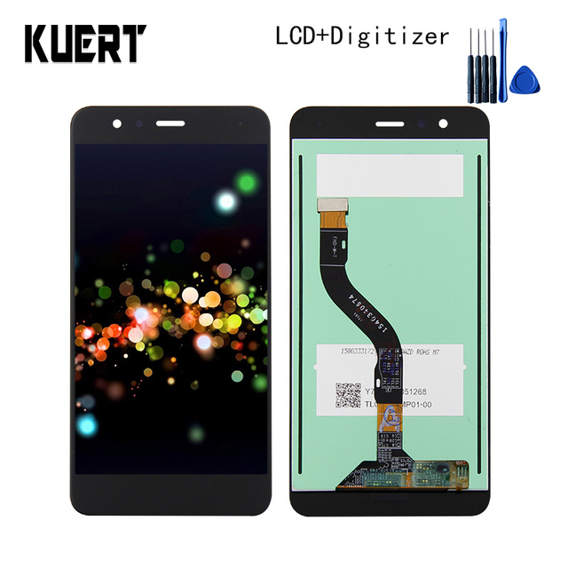 High Quality Touch Screen Digitizer LCD Display Assembly For Huawei P10 lite PRA-LX3 PRA-LX1 Repair Part  Free shipping