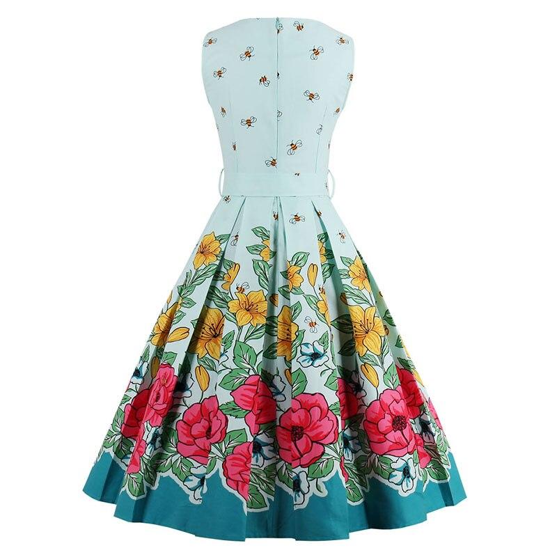 Aliexpress.com : Buy Sisjuly 2017 floral bee print vintage dresses ...