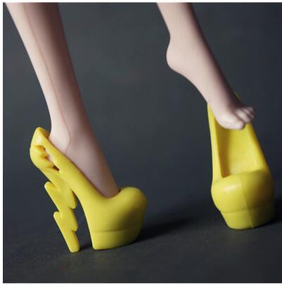 Новые модные красивые туфли для Monster High оригинальные Куклы 1/6 детей игрушки...