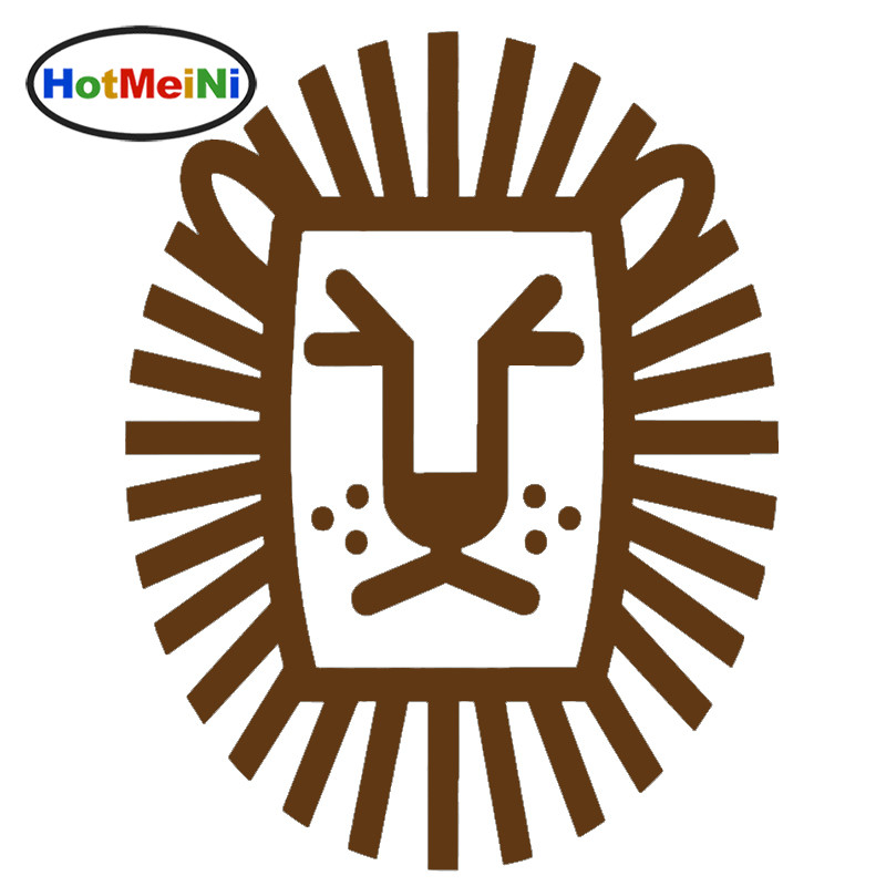 Hotmeini King African Beast Ferocious Lion Head Totem Car
