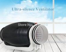 Вентилятор бесшумный для трубопроводов коммерческий вытяжной
