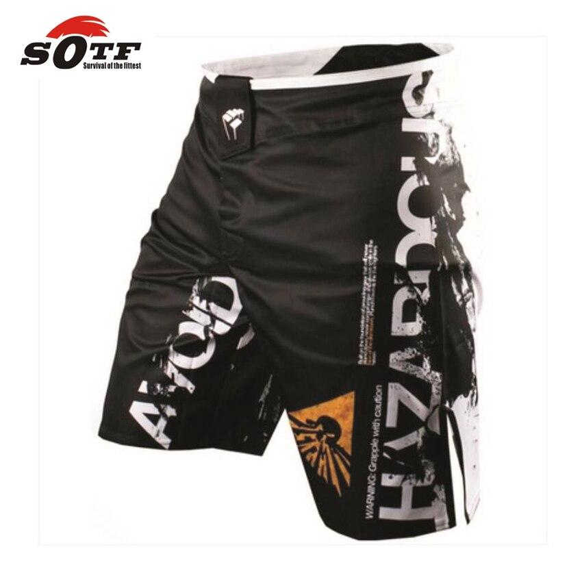 SOTF mma shorts boxing trunks muay thai short mma boxing pants tiger muay thai pretorian mma