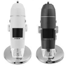 Discount! 1000X 8 LED 200W High Resolution Zoom Digital  Electron Microscope Handheld USB Endoscope Camera Microscopio Magnifier