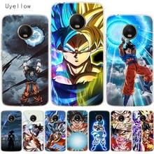 Uyellow Dragon Ball Super Goku Cover For Motorola G4 G5 G5S G6 G7 E4 E5 Plus Play Case Moto Power Silicone Soft TPU Coque