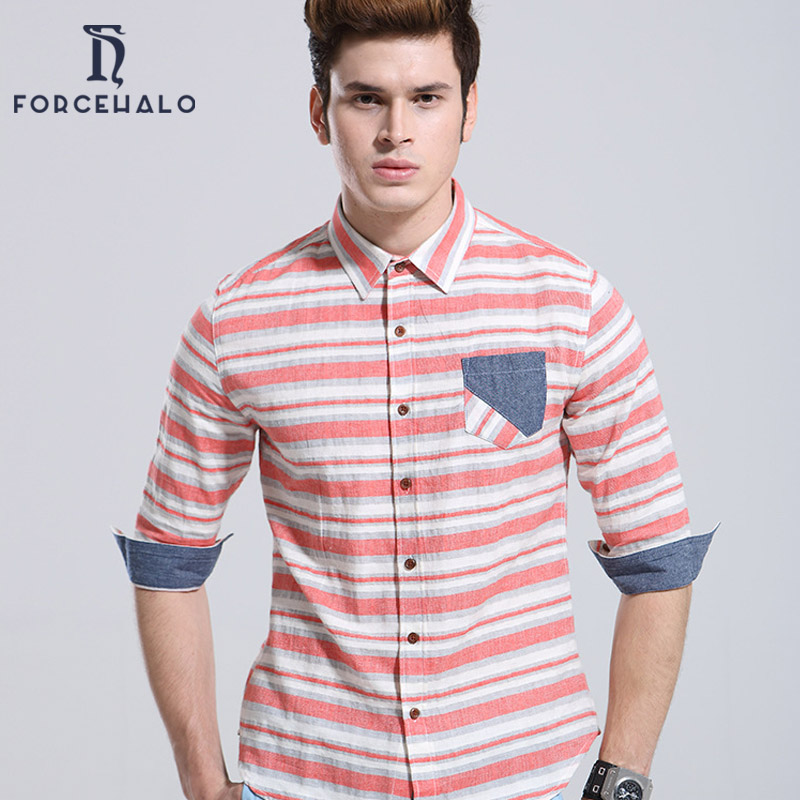 93476576a 2016 New Style Men Shirt Medium Sleeve Casual Striped Design Men Blouse  Cotton Men Shirts Slim Fit High Quality-in Casual Shirts from Men's  Clothing on ...