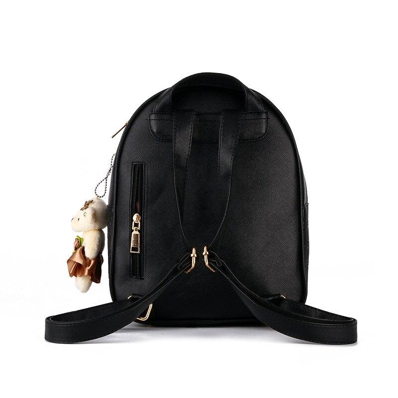 2018 New Handbag Bag S Casual Shoulders Backpack College Wind Bag Taobao Explosion Leather Backpack Baby Girl Backpack