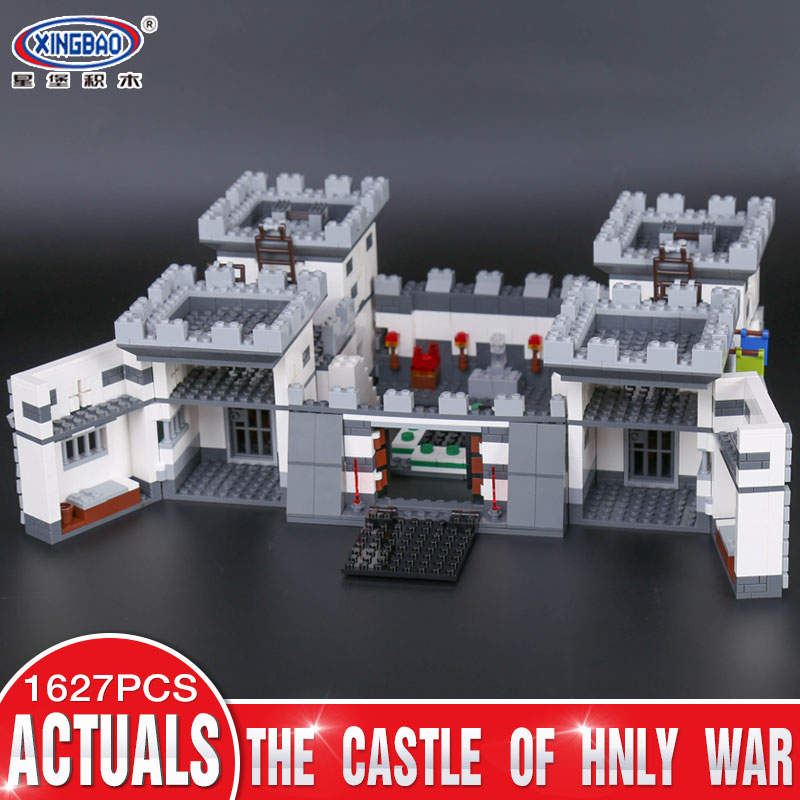 Xingbao 09005 1627Pcs Block Series The Castle of Holy War Set Children Building Blocks Bricks Boy Educational Toys Model Gift rollercoasters the war of the worlds
