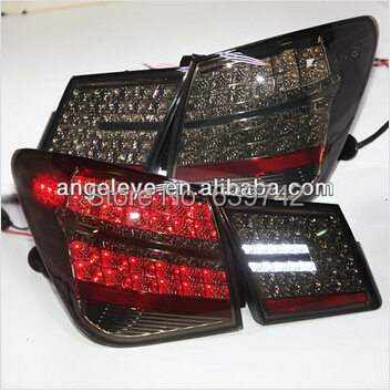 2009-2012 Year For CHEVROLET Cruze LED Tail light for Mercedes Benz Style Smoke Black Color