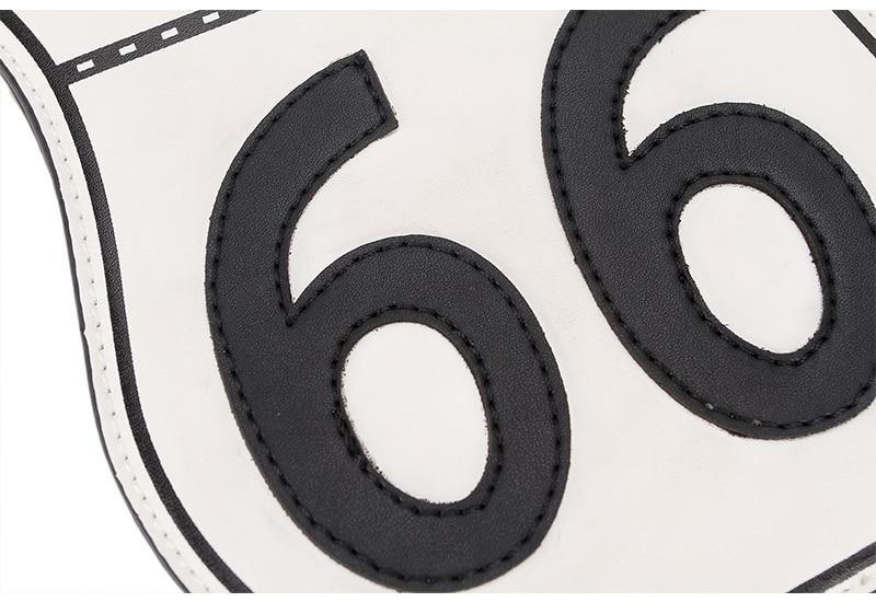 Bolsa divertida Tarjeta Ruta 66
