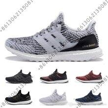 Boost 3,0 5,0 спортивная обувь для мужчин для женщин высокое качество тройной черный, белый цвет Primeknit Oreo синий ultraboost спортивные спортивная обувь