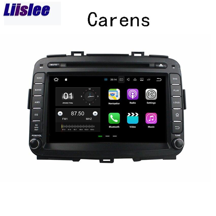 Liislee Android Car Navigation GPS For Kia Carens 2013 2017 Audio Video Radio Stereo Multimedia HD