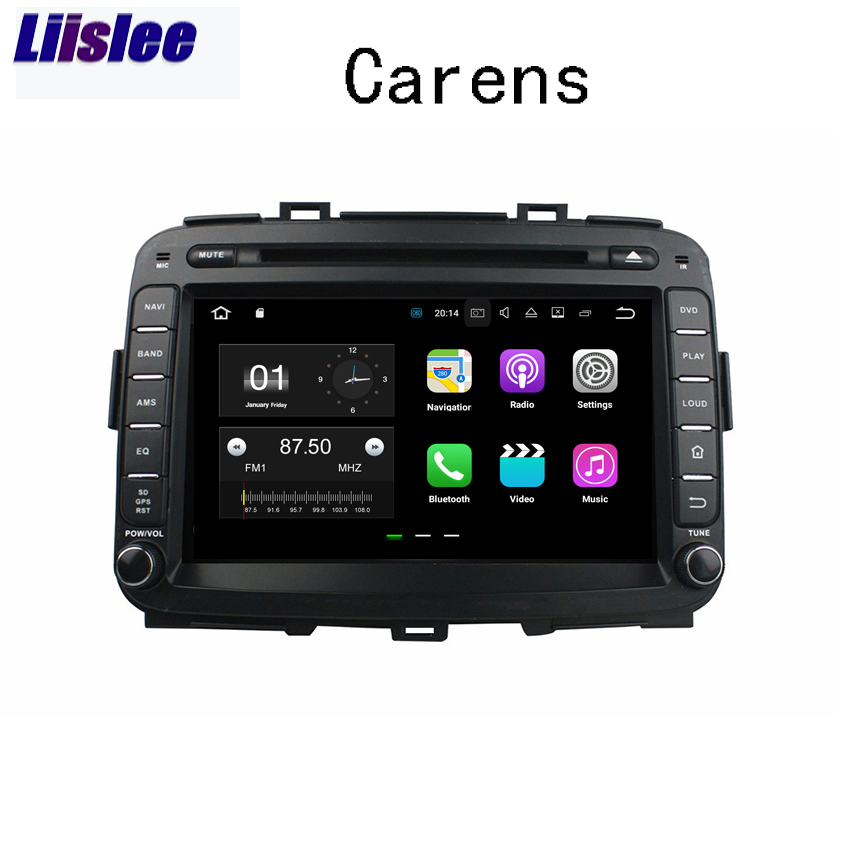 Liislee Android Car Navigation GPS For Kia Carens 2013~2017 Audio Video Radio Stereo Multimedia HD Touch Screen Player