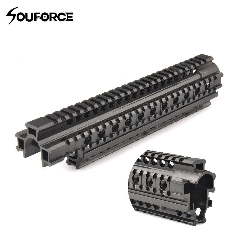 Tactique FN FAL Quad Rail système de montage picatinny rail Handguard Aluminium L1A1 chasse tir