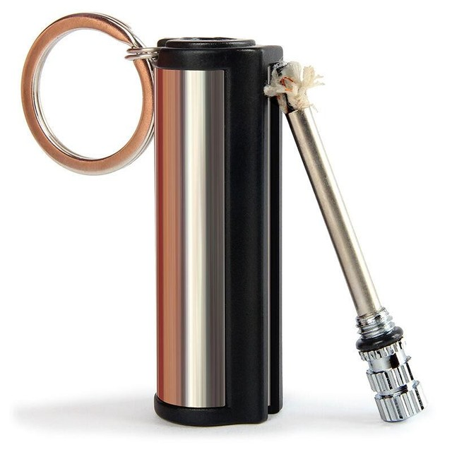 20pcs/lot Emergency Fire Starter Flint Match waterproof universal Outdoor Survival magnesium rod lighter Flint Stone match