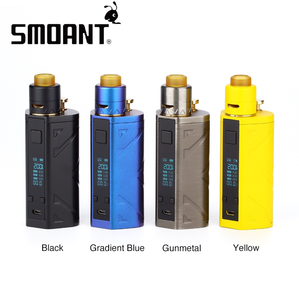 Original Smoant Battlestar TC Kit with Smoant Battlestar Squonker MOD 24mm Squonker RDA 7ml Bottle No