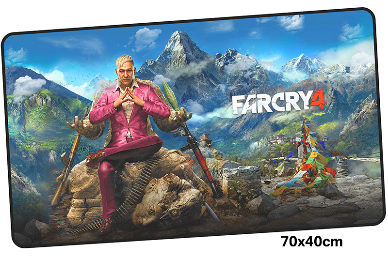 far cry mousepad gamer 700x400X3MM gaming mouse pad large Fashion notebook pc accessories laptop padmouse ergonomic mat
