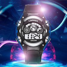 Luxury Sports Watch Men Analog Digital Military Plastic Army Sport LED Horloges Wrist Watches Men Relogio Masculino for Gifts