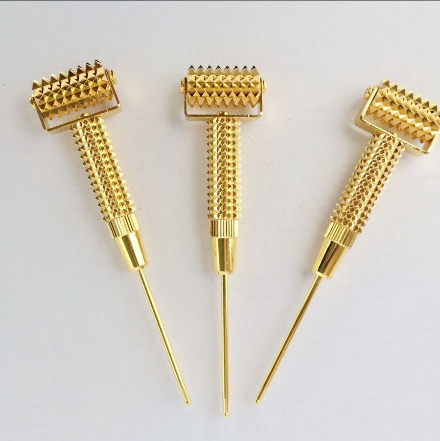 Spring ear detection pen microprobe detector massage needle pen microprobe metal rolling needle microprobe 100pcs box zhongyan taihe acupuncture needle disposable needle beauty massage needle with tube