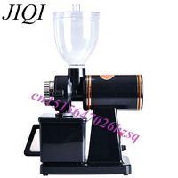 220V Automatic Electric Coffee Grinder Machine Coffee Burr Mill Storage Capacity 250g