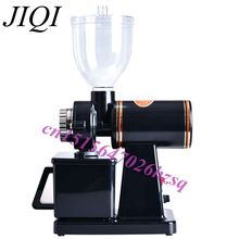 JIQI 110V/220V Automatic electric coffee grinder machine coffee Burr Mill  Storage Capacity (250g)  coffee mill