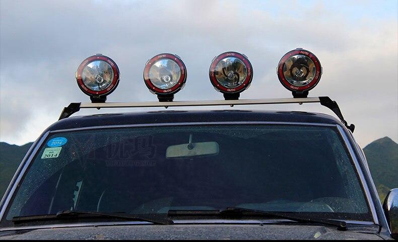 Купить с кэшбэком skuer 55W 4 inch Off Road 6000K spotlight hid Xenon lamp Super bright off-road vehicle Spotlight Auxiliary lamp Roof
