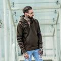 2017 Hoodies Men Sweatshirts With Fleece Brand Orignal Design Oversize Long Sleeve Fashion Hiphop Clothes Harajuku Kanye West