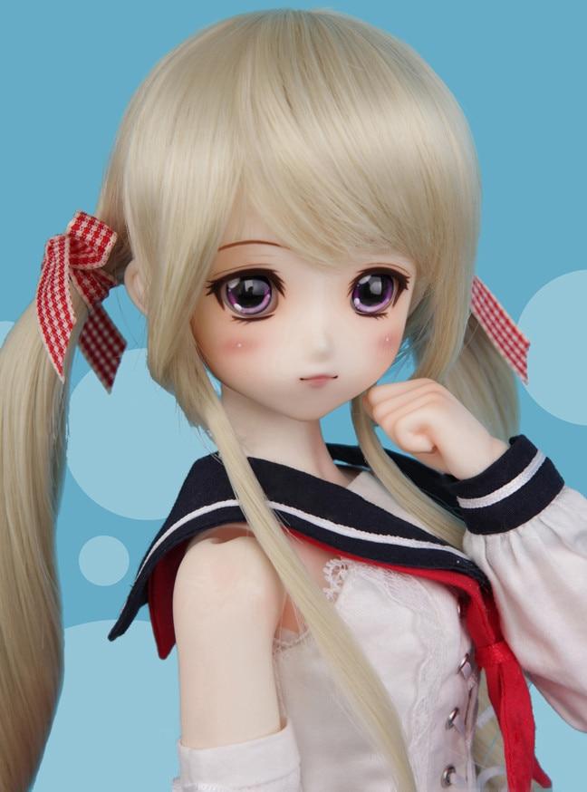 Bjd/sd куклы Малыш Delf девушка Коко 1/4 модель тела reborn для мальчиков и девочек глаза высокое качество