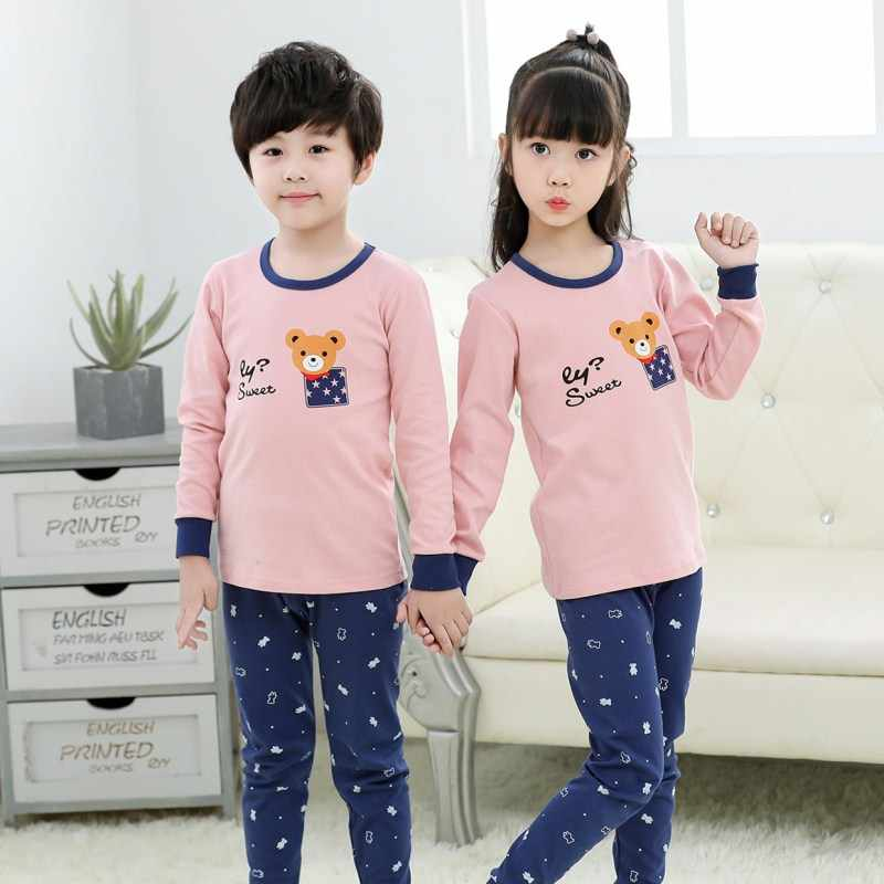 2050888562d6 Detail Feedback Questions about 2018 Autumn Kids Pajamas Sets Baby ...