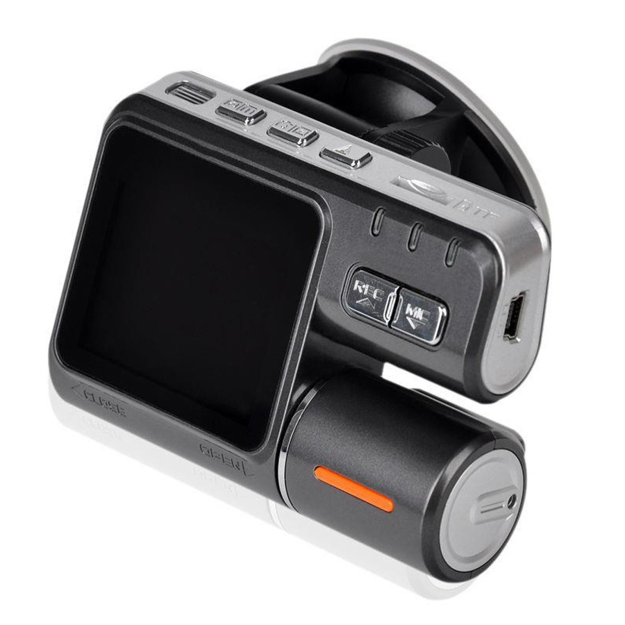 Dual Lens Camcorder i1000s Auto Car DVRs Camera HD 1080P Dash Cam Black Box Driving Recorder With Parking Rear lens Cameras