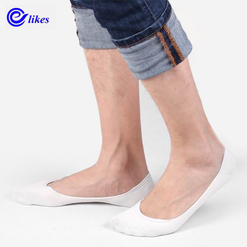 3Pairs Men cotton socks Super Invisible