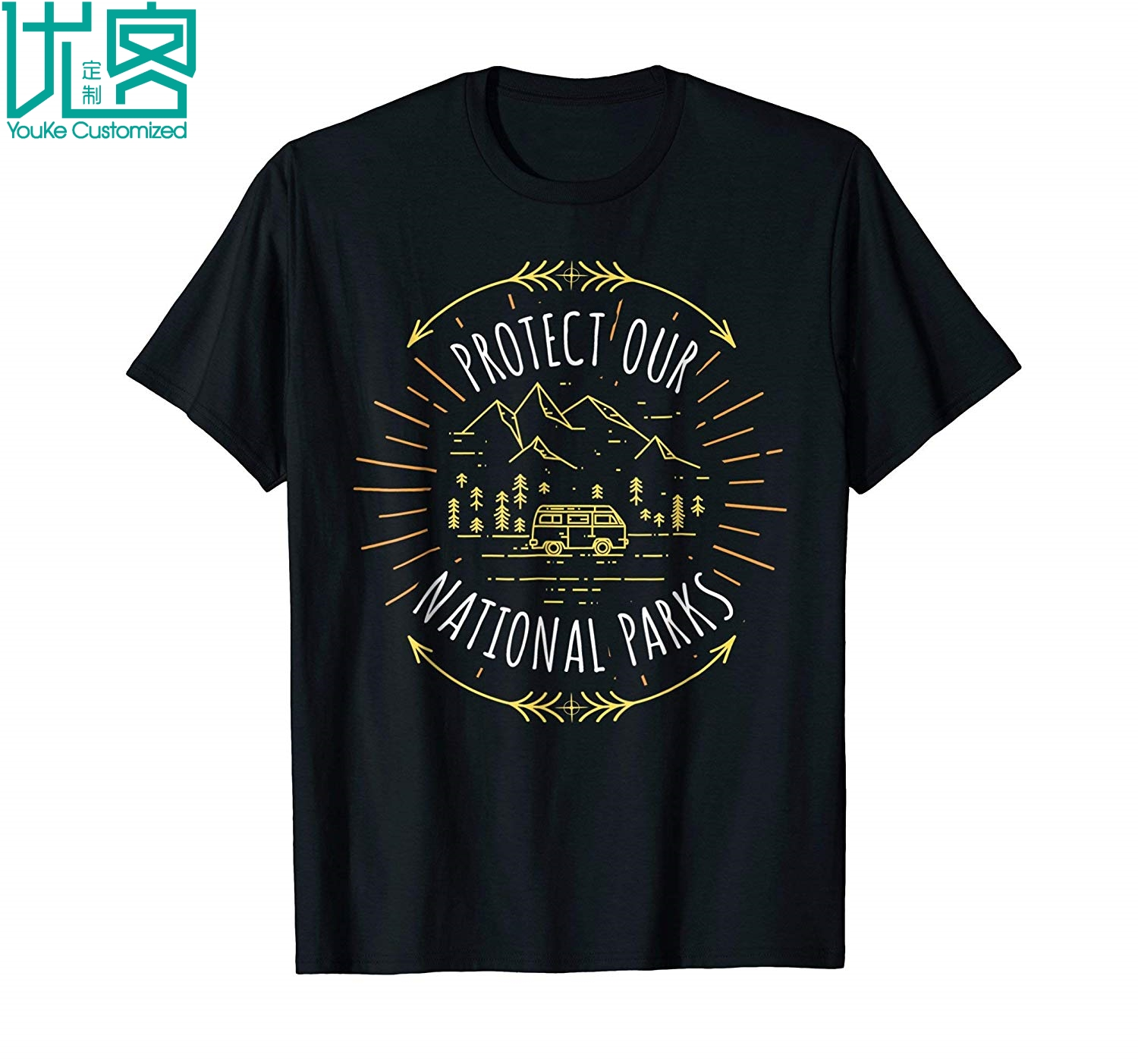Protect Our National Parks Shirt Environmental Shirts 2019 Summer Men's Short Sleeve T-Shirt image