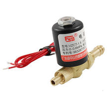 High quality 0-0.6Mpa Brass 2 Way Rotatable Welding Machine Solenoid Valve AC 220V  Free shipping