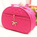 Large Capacity Diamond Semicircular cosmetic bag makeup tool storage bag multifunctional Storage package free shipping