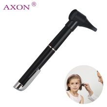 Portable Medical Diagnostic Light Otoscope Magnifying Pen Ear Nose Throat Clinical Care Light Protect Tool Set Ear Cleaner