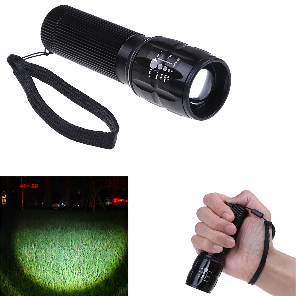 Portable 3 Mode Lamp Tactical Military Led Flashlight