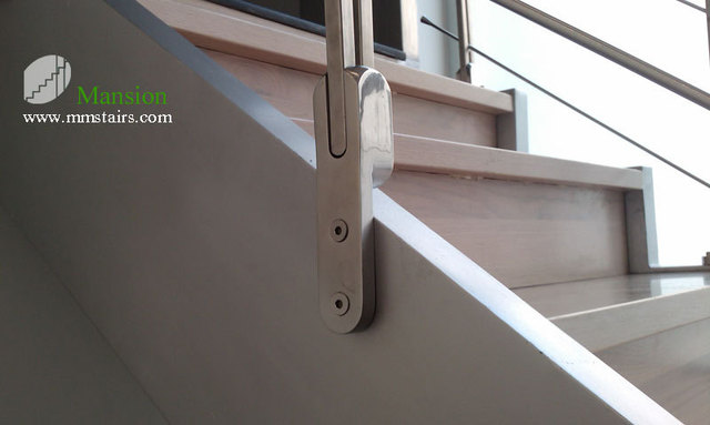Incroyable Side Mounted On Stair Stringer Rails Holder Stainless Steel Baluster