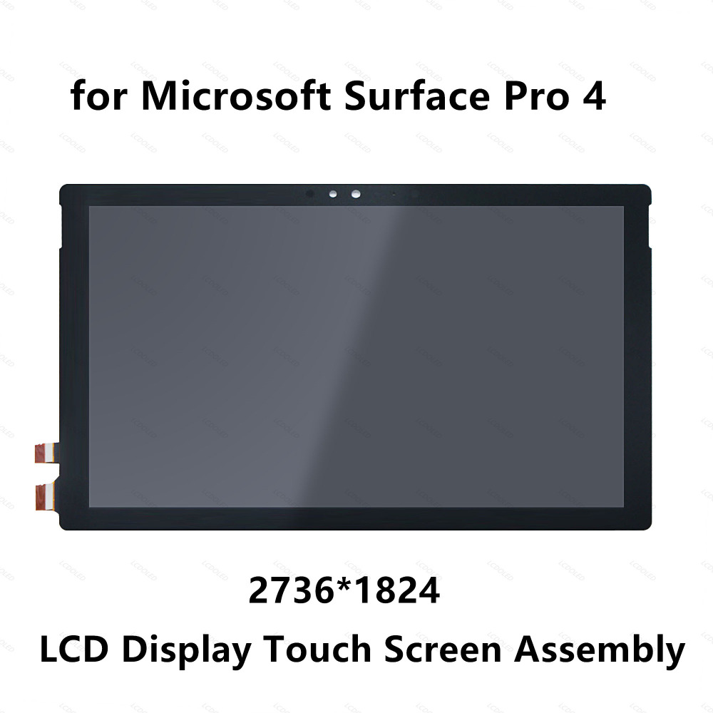 цена на 12.3'' for Microsoft Surface Pro 4 1724 LTN123YL01-001 LED LCD Display Panel Touch Screen Glass Digitizer Assembly Replacement