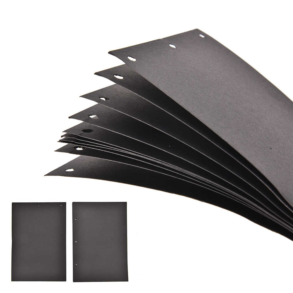 Extra Sheets for Photo Album 10sheets 10Inch 18x26cm DIY Scrapbook Paper Crafts Black Card Handmade Inner Sheet Pages Stationery