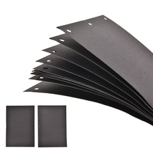 Extra Sheets for DIY Photo Album New 10 sheets Scrapbook Paper Crafts Inner Black Card Handmade Inside Pages 18x26cm