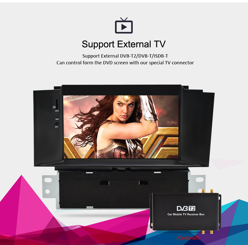 Image 5 - Android 8.1 Car Stereo For Citroen C4 C4L DS4 2013 2014 2015 2016 DVD Player Auto Radio Video FM GPS Navigation 2 Din Multimedia-in Car Multimedia Player from Automobiles & Motorcycles