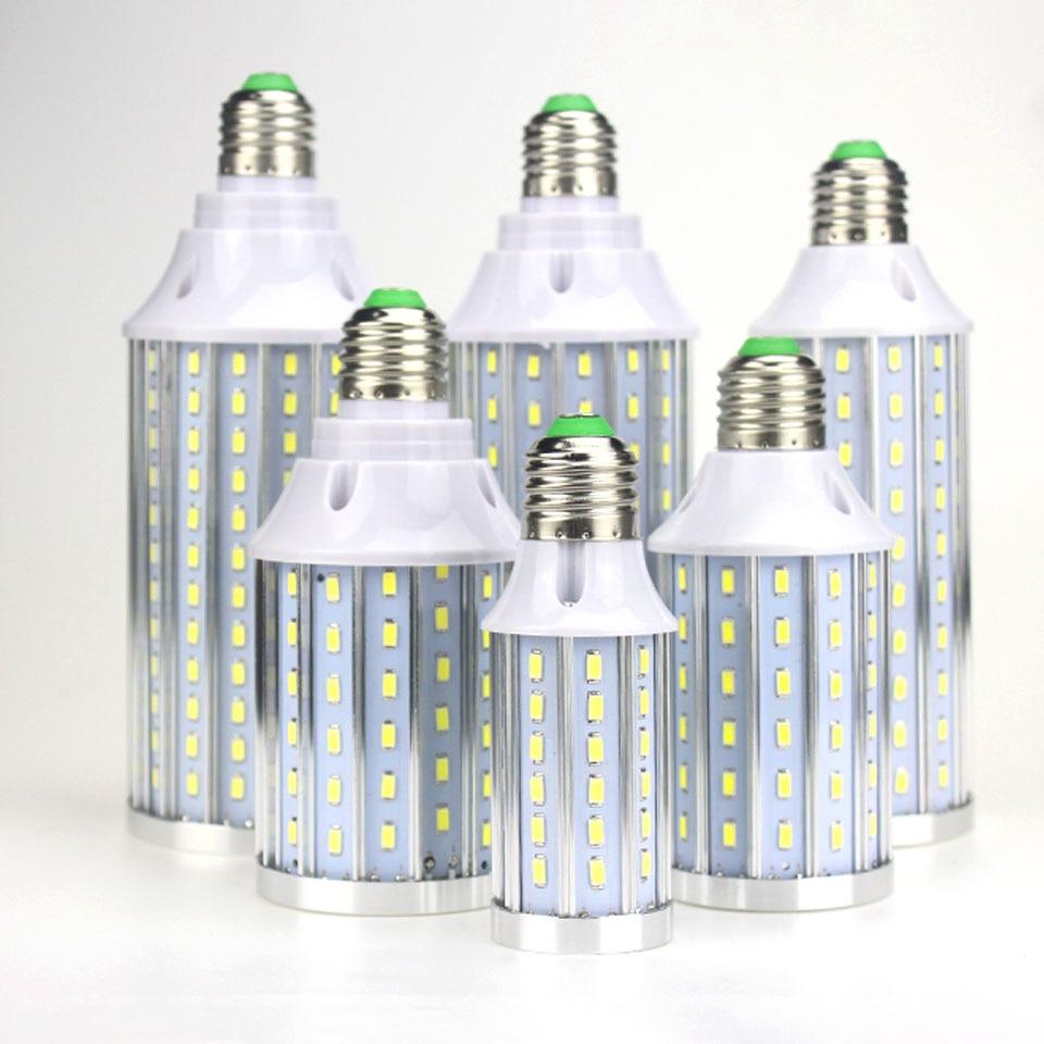 Bright Led Bulb: E27 1X Super Bright Corn Led Bulb No Flicker/strobe High
