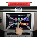 2 Din Dual Core 8 Inch Car Android Bluetooth DVD Player HD Touch Screen Video Players WiFi Multifunction GPS Navigation