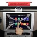 2 Din Dual Core 8 Polegada DVD Player HD Touch Screen Players De Vídeo Carro Android Bluetooth Wi-fi de Navegação GPS Multifuncional