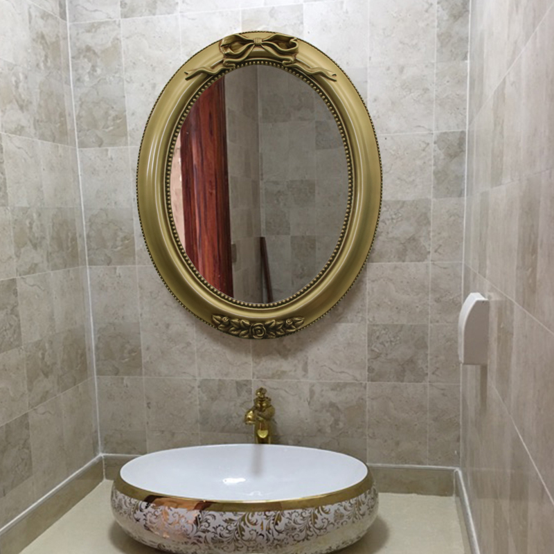 Aliexpress Com Buy 40cmx49cm Wash Basin Makeup Mirror Trumpet