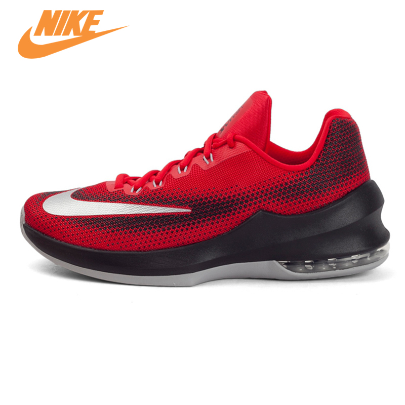 Original New Arrival 2017 NIKE AIR MAX INFURIATE LOW EP Men's Breathable Basketball Shoes Sneakers Trainers все цены
