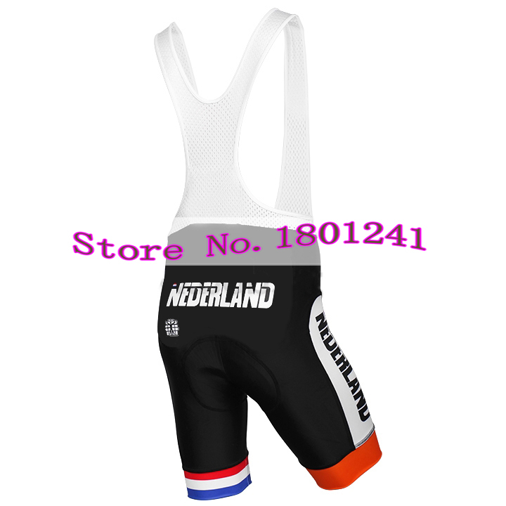 92a067b2f 2017 cycling jersey clothing wear orange dutch Holland Netherlands riding  racing pro team black gel pad quick dry ropa ciclismo-in Cycling Jerseys  from ...