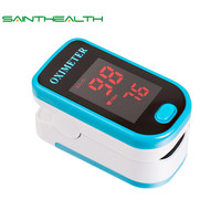 ELERA Health Care Finger Pulse Oximeter Pouch Blood Oxygen SPO2 PR Oximetro De Dedo Digital Portable