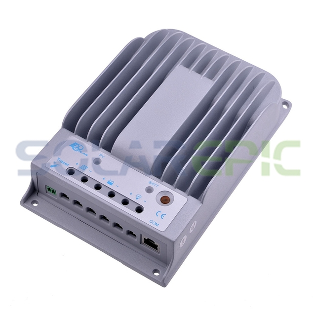 MPPT 10A Solar Charge Controller EPEVER10A MPPT Solar Controller Max 150V PV Battery Panel Regulator 12V/24VDC Auto Solar Charge